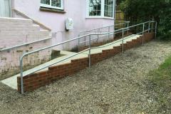 Tube handrails
